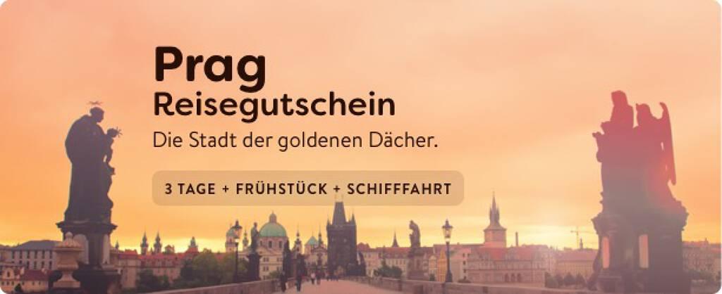 Prag-Reisegutschein - 3 Tage + Frühstück + Schifffahrt