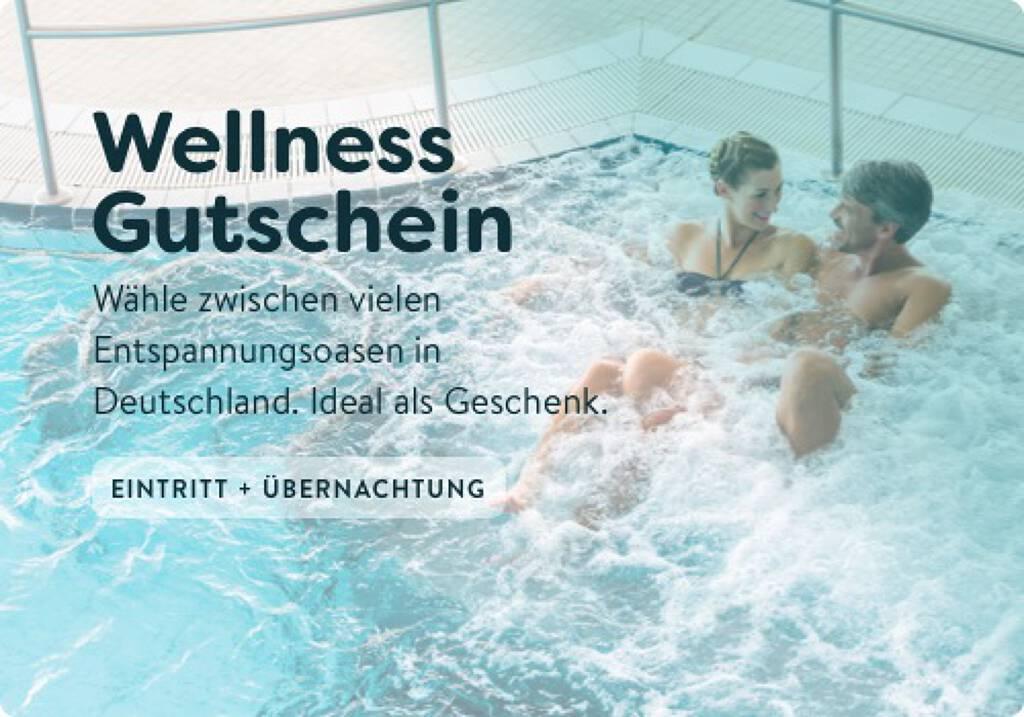 Wellness-Gutschein - 1 Gutschein für 33 Thermen