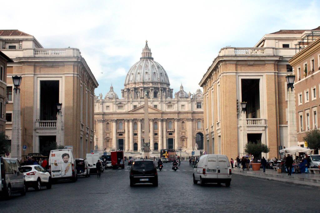 Ein Blick auf den Vatikan