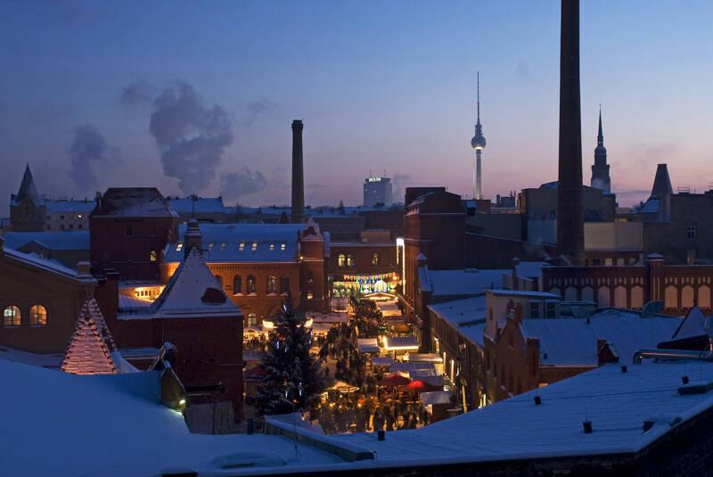 Lucia Weihnachtsmarkt in der Kulturbrauerei, Berlin-Prenzlauer Berg