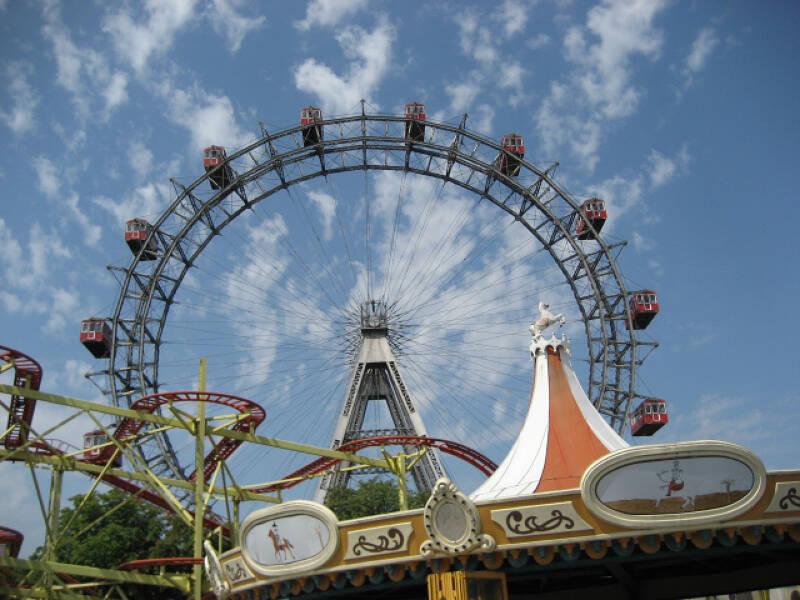 Der Prater ist einer der ältesten Freizeitparks in Europa