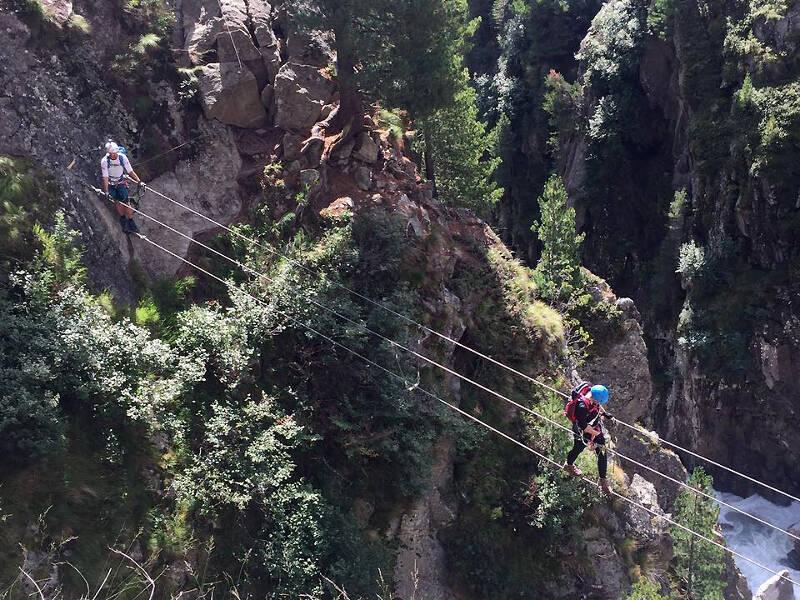 Klettern ist im Zirbenwald in Sölden kein Problem