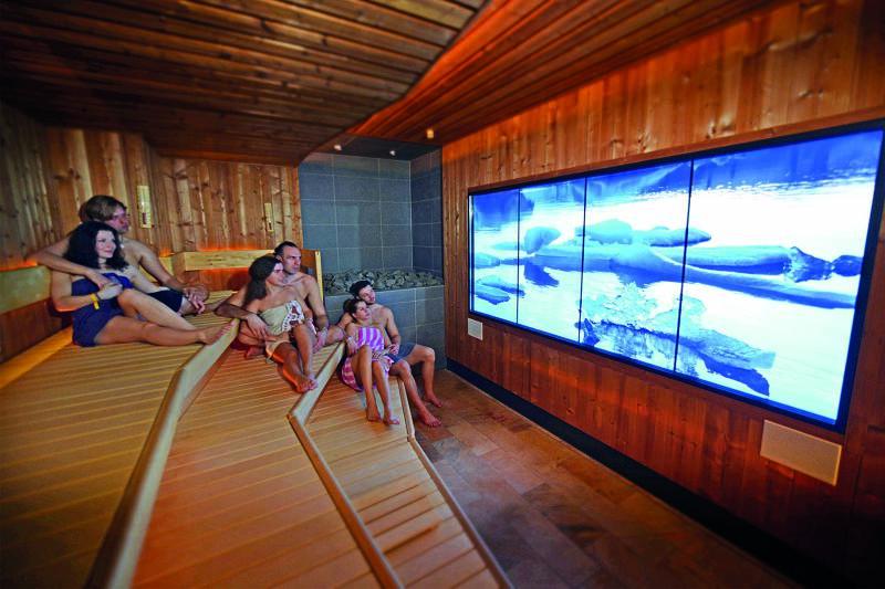 Auch Sauna-Liebhaber kommen im Aquamagis auf ihre Kosten