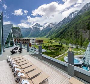 Erholung im 4 Sterne Superior Wellnesshotel in Längenfeld ab 179 Euro