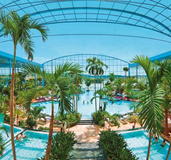 Badewelt Sinsheim mit Hotelübernachtung ab 65 Euro