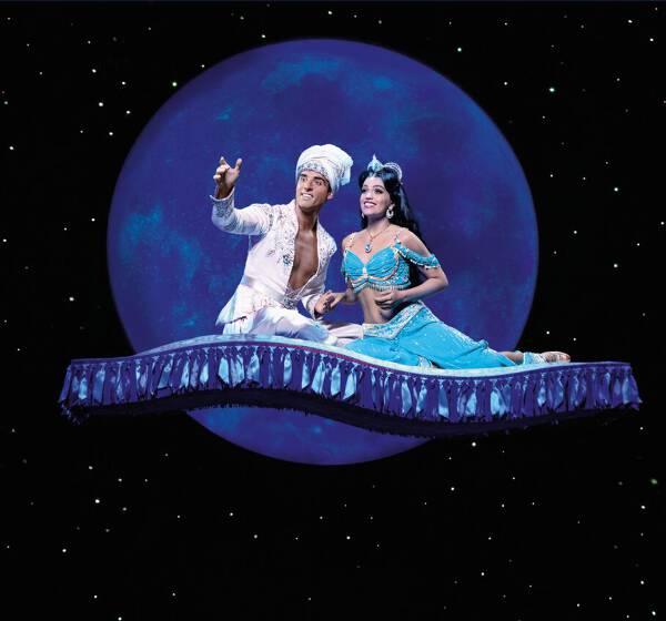 Disneys Aladdin - Das Musical mit Hotelübernachtung ab 89 Euro